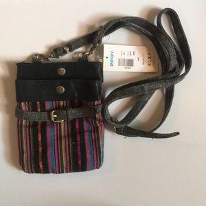 NWT Roxy Small Crossbody Rainbow Bag #4